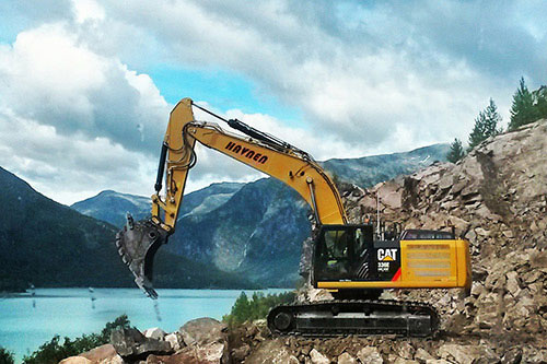 Caterpillar 336E HD HW